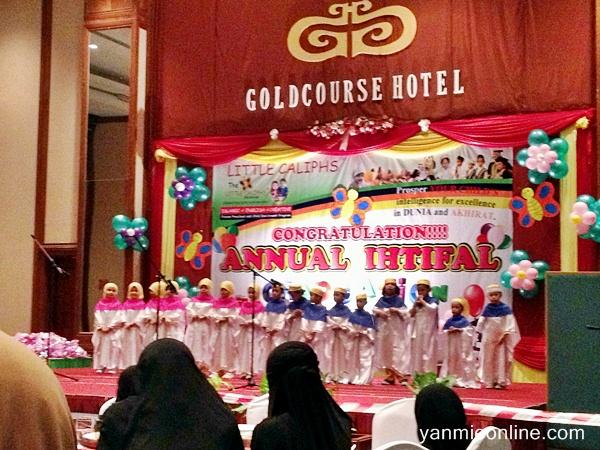 Grand Ihtifal Little Caliphs Bandar Puteri Klang Di Hotel Goldcourse