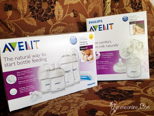 botol susu avent terbaru dan breast pump avent