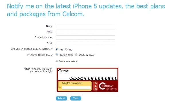 iphone 5 malaysia dari celcom