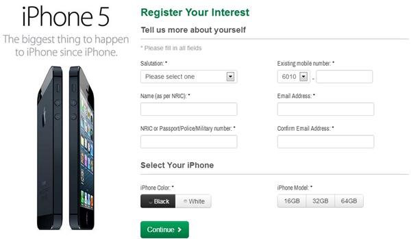 iphone 5 malaysia dari maxis