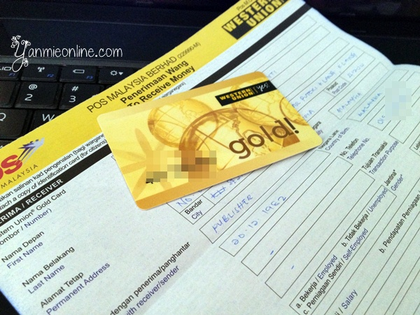 western union gold card