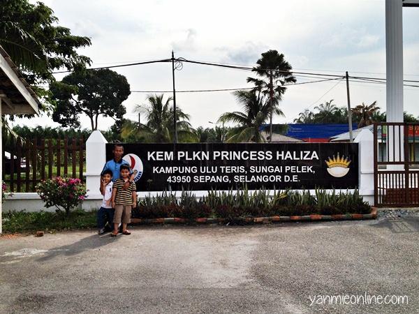 Kem PLKN Princess Haliza Sepang