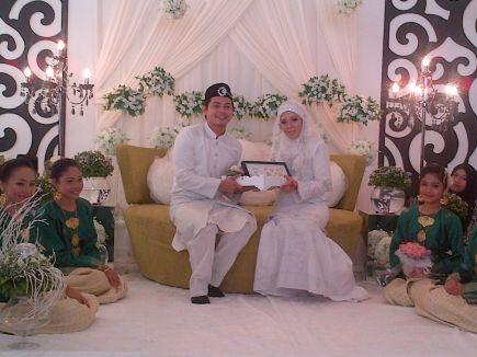 gambar kahwin izzue islam
