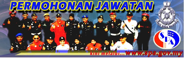 jawatan kosong polis 2013