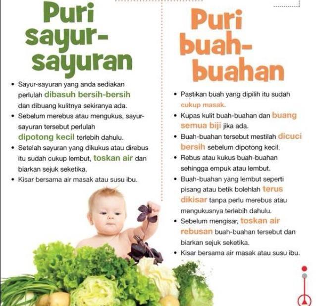 Jadwal Makanan Bayi 9 Bulan
