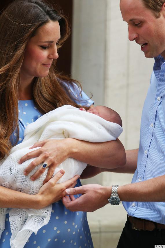 Gambar Anak Lelaki Kate Middleton Dan Putera William
