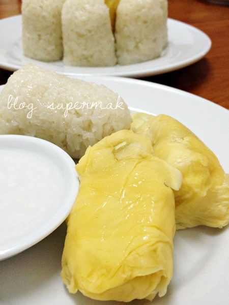 pulut durian