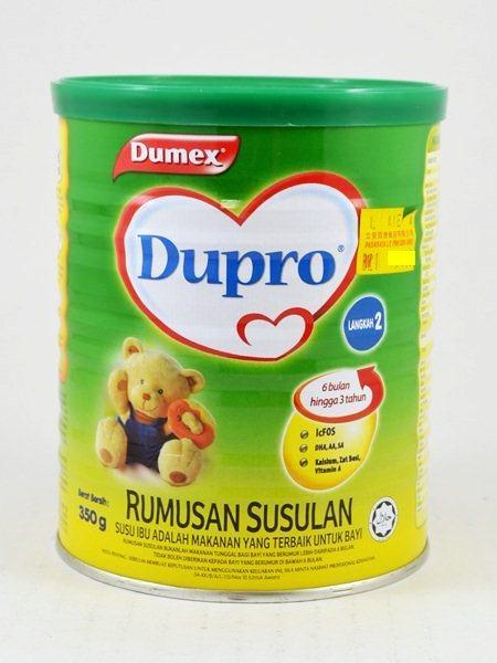 Dumex Dupro Step 2 tercemar