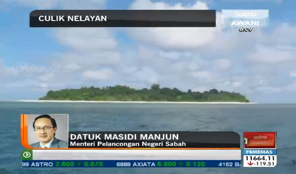 cubaan culik nelayan di pulau mabul semprorna sabah