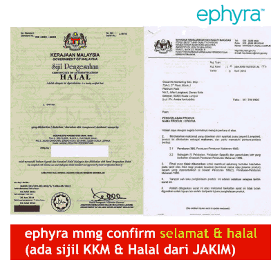 sijil halal ephyra