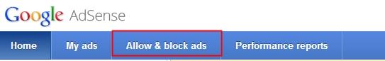 block iklan adsense