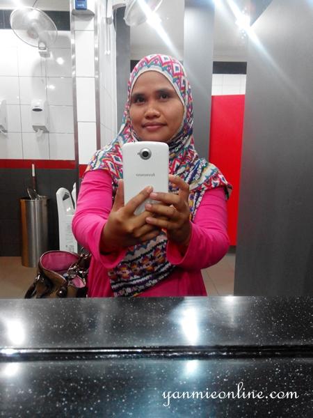 selfie dengan lenovo