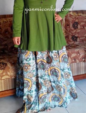 skirt muslimah paisley