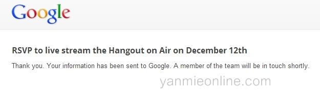 Hangout bersama Google Adsense Team