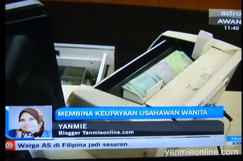 Yanmie di Astro Awani