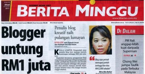 redmummy di berita harian