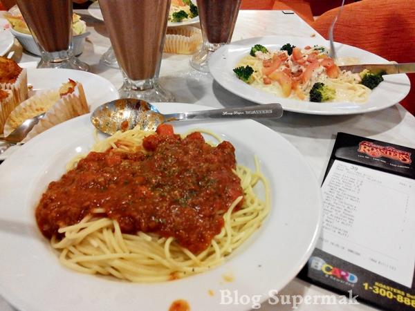 spaghetti di kenny rogers
