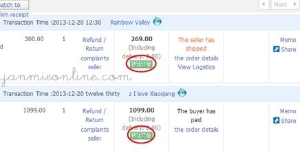 shopping online di sea taobao