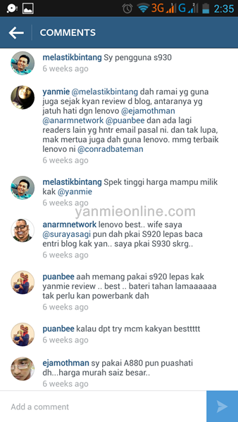 review bateri lenovo
