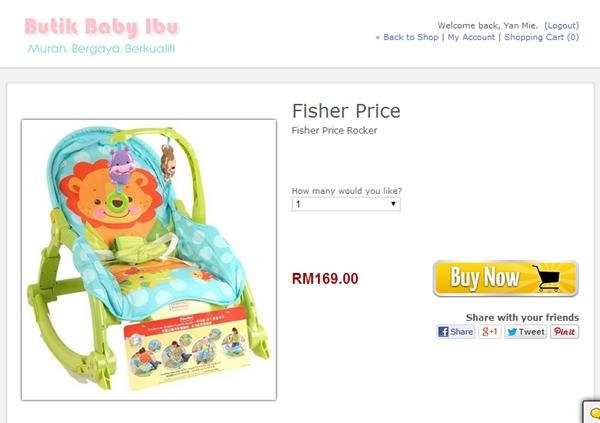 web butik baby ibu