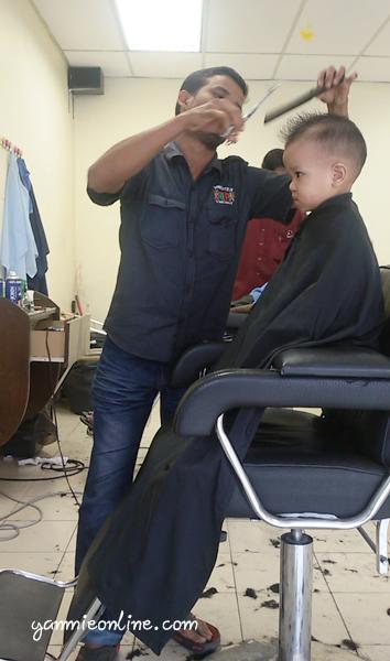 kedai gunting rambut