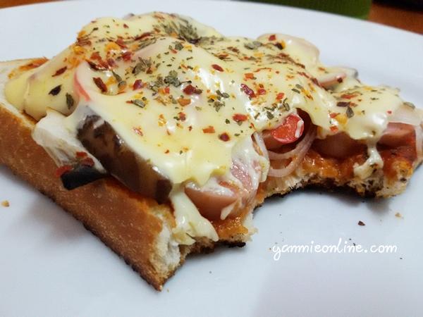 pizza roti gardenia sedap
