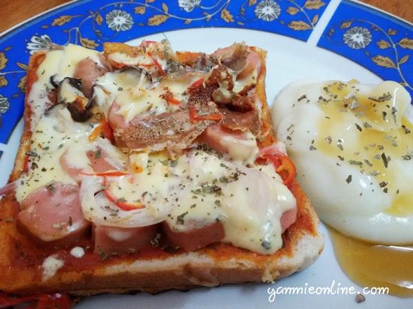 pizza roti mudah