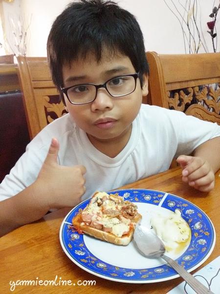 roti pizza gardenia mudah