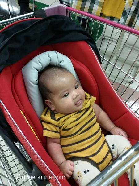car seat sweet cherry jusco
