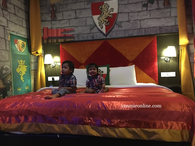 premium kingdom themed legoland hotel