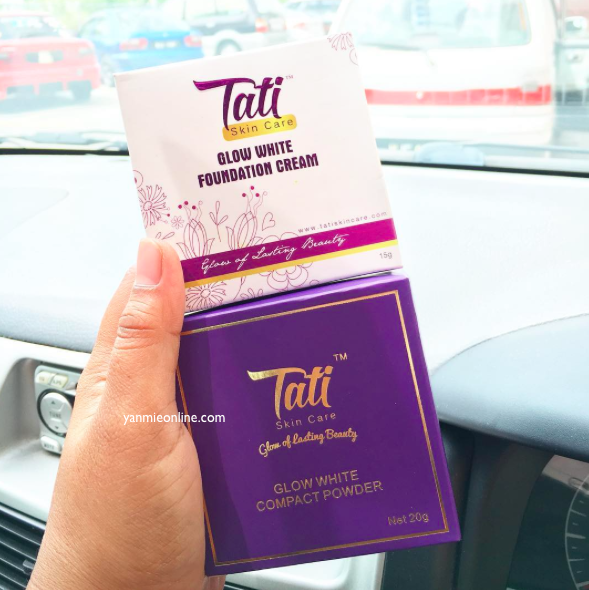 fondation dan compact powder tati