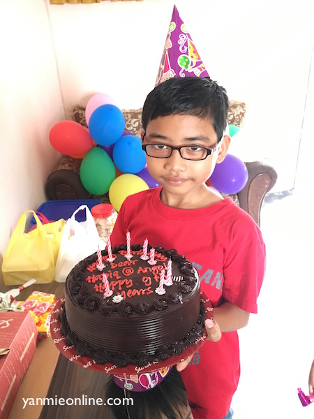 haziq turns 9