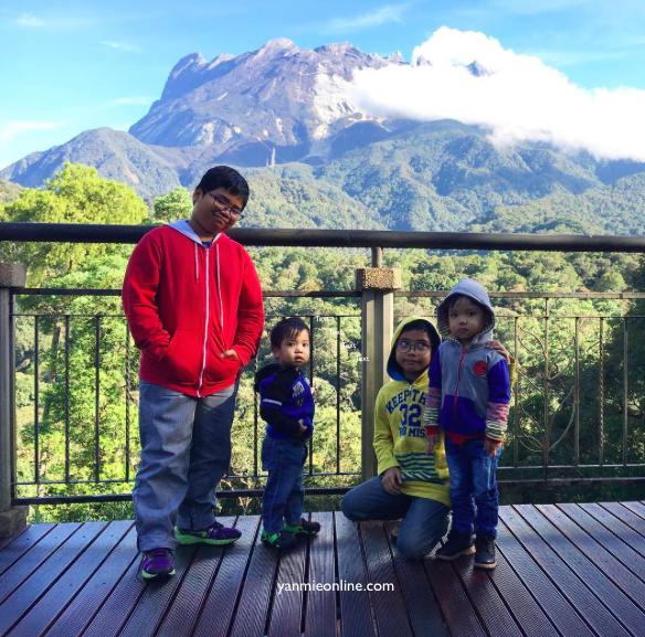 pemandangan gunung kinabalu