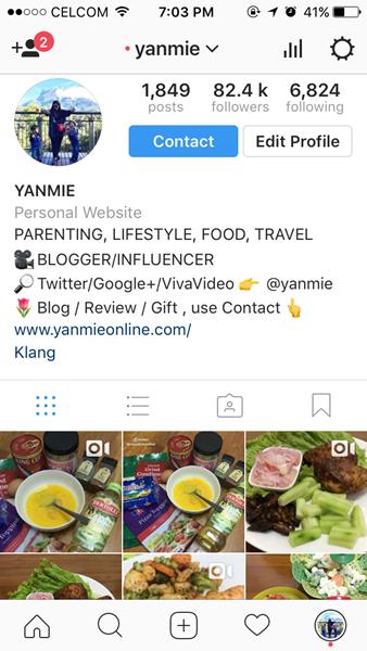 instagram yanmie