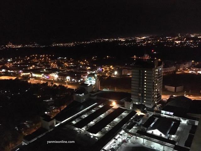 pemandangan malam kota kinabalu 1