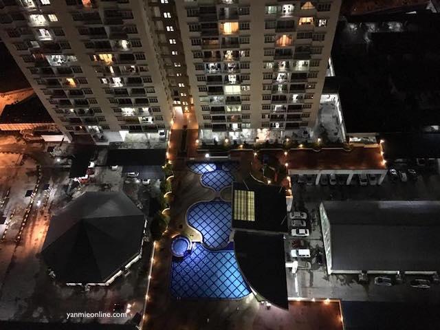 pemandangan malam kota kinabalu 2