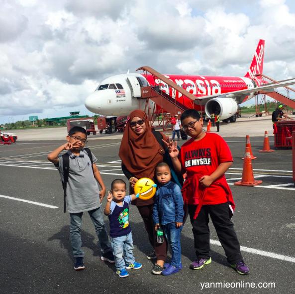 Fly Dengan Anak-anak
