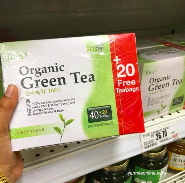 Khasiat Teh Hijau - Organic Green Tea Yang Tak Pahit Dan ...