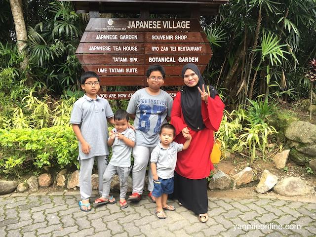 japanese village bukit tinggi pahang