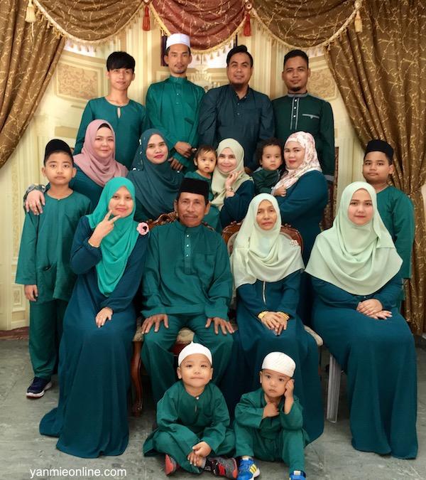 gambar photoshoot keluarga