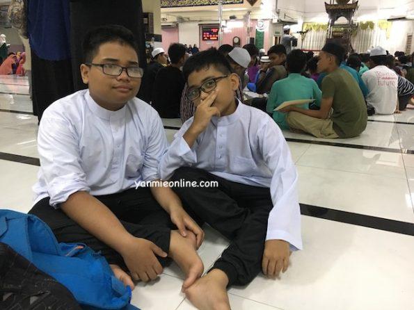 aiman haziq di kem anak soleh 2017 masjid jamek klang